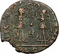 CONSTANS Constantine the Great  son Ancient Roman Coin VICTORIES  i20435