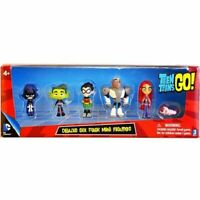 Teen Titans Go Action Figure Comic Collection Kids Toy Doll Best Gift 6Pcs/Set