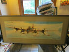 Keith Ferris Framed Print 1976 of Military Airplanes lot CR