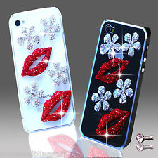 NEW 3D DELUX COOL LUXURY BLING FLOWER DIAMANTE CASE IPHONE SAMSUNG SONY HTC 8 9