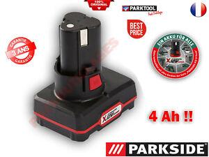 PARKSIDE® Batterie 12 V 4 Ah !! Pour les appareils De la Serie X12VTEAM