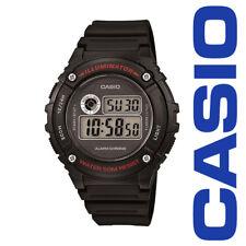 Casio W216H-1A Men's LED Light Chronograph Alarm Digital 50M WR Sports Watch
