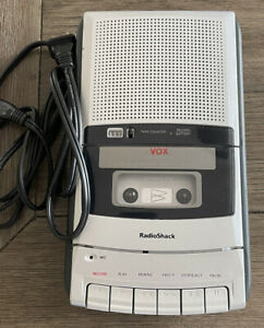 RadioShack VOXCTR-121 Voice Activated Cassette Tape Player Recorder Tested