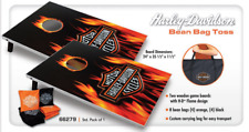 Harley Davidson® Flaming Bar & Shield Bean Bag Toss