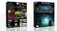 Eternal Darkness Sanity's Requiem Game Cube Case + Box Art Work Cover No Game