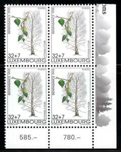 Luxembourg 1995 Bloc de 4 ** / Mi 1383 [Q036]