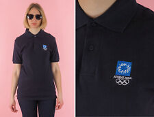 Vintage High Q Athens AOHNA Womens Polo Shirt/ New with tags/ Embroidered logo