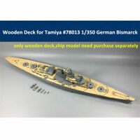 Wooden Deck for Tamiya 78013 1/350 German WWII Battleship Bismarck Model