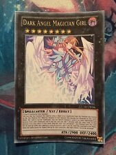 YU GI OH - RAGAZZA MAGA NERA ORICA DARK ANGEL MAGICIAN GIRL ANIME STYLE SEXY