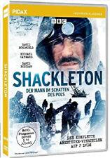 Shackleton - Der Mann im Schatten des Pols, 2 DVDs Abenteuer-Vierteiler Pidax