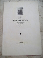1944 MOSTRA D'ARTE MODERNA A PARMA CARLO CARRA' CASORATI DE PISIS MARIO MAFAI...