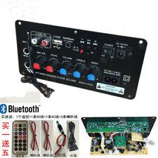 Car Subwoofer Digital Bluetooth Amplifier Board Dual Microphone Karaoke Amplifie
