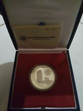 Malaysia 2009 50th Anniversary Of Parliament Malaysia Silver Proof Coin