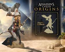 Assassin's Creed ® Origins: bayek Life-Size 220 cm/4 exemplaires dans le monde