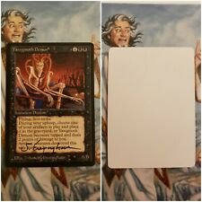 Yawgmoth Demon Signed Artist Proof MTG