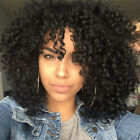 AISI HAIR Black Synthetic Wig Long Curly  Afro African American Wigs for Women