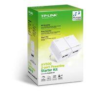 Modem PLC TP-LINK TL-PA4020 KIT 2x AV500 Powerline 500 mbps PLCs Red Ethernet