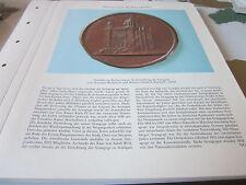 Nürnberg Archiv 2 Geschichte 2055 Medallie Einweihung Synagoge Hermann Weckwerth