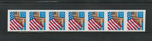 US ERROR Stamps:#2913a Flag over Porch. Imperf PS7 #44444 PNC MNH $350.+