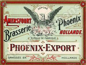 Phoenix Export Beer NEW Metal Sign: Phoenix Brewery - Amersfoort - Holland
