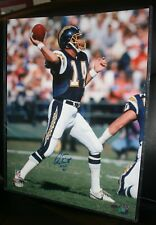 DAN FOUTS SIGNED 16 X 20  SAN DIEGO CHARGERS     STEINER COA