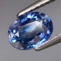 1.12Ct.Ravishing Color Cornflower Blue Normal Heated Sapphire Ceylon Good Luster