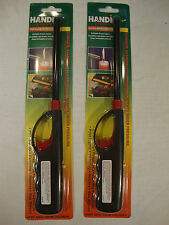 2 Handi Flame Multi Purpose Refillable Lighter Long Nozzle Child-Resistant Grill