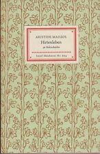 IB 604 - Aristide Maillol: Hirtenleben (36 Holzschnitte)   EA 1954