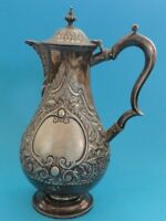 """ANTIQUE MAPPIN BROTHERS Sheffield Plate Pitcher #583 ~ 10"""" H"""