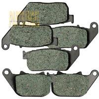 F+R Brake Pads For HARLEY DAVIDSON XL 883 R Sportster R XL 1200 R Roadster 04-08