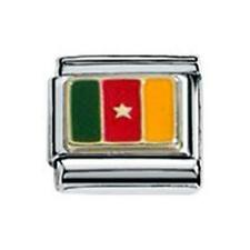 Zoppini Charm Cameroon Flag (C1BSB_1B00)