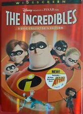 Disney Pixar The Incredibles (Dvd, Widescreen 2 Disc collectors edition Collect