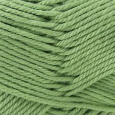 Patons Cotton Blend 8 Ply Yarn 50 G by Spotlight Apple Green