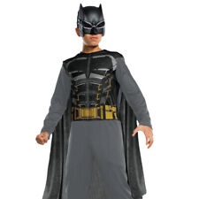 CHILDS BATMAN COSTUME BOYS SUPERHERO FANCY DRESS OUTFIT DARK KNIGHT COMIC BOOK