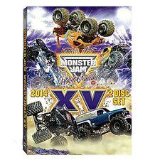 2014 Monster Jam World FInals XV DVD New Sealed! Free Shipping!