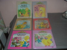 Lot of 6 StoryMagic Books for your Vintage StoryMagic Sesame Street Big Bird.