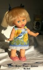 A-Line dress, panties & Ribbons Fits Galoob Baby Face dolls (NO DOLL)See details