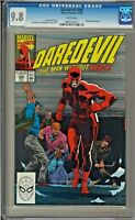 Daredevil #285 CGC 9.8 White Pages Bullseye app ONLY ONE ON EBAY!