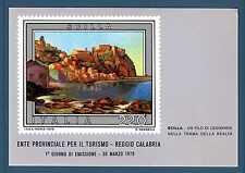 ITALIA REP. - CARTOLINA - 1979 - SCILLA. Ente prov. turismo. E3731