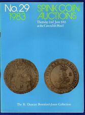 Spink Coin Auction Catalogue,  Sale No. 29, June 1983 (Ref. t0308)