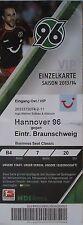 VIP TICKET 2013/14 Hannover 96 - Braunschweig