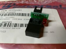 Universal Instruments 40607401 Pc Bd, Board Present Switch Assembly *New*