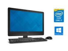 """Dell Optiplex 9030 AIO 23"""" i7 4790S 8Gb Ram 256Gb SSD Win 10 All In One PC"""