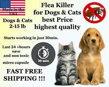 50 Capsules Instant Flea Killer Control small Dogs / Cats 2-15lb prevention 10mg