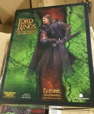 boromir son of denethor sideshow weta lord of the rings statue limited edition