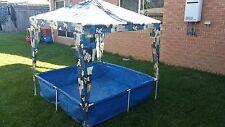 Kids Steel Frame Canopy Pool