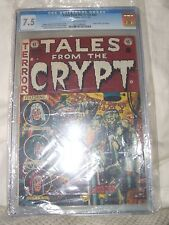 TALES FROM THE CRYPT # 33 CGC 7.5 UNIVERSAL GRADE ORIGIN OF THE CRYPT KEEPER