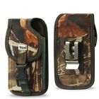 Durable Vertical Holster Case Pouch Metal Belt Clip for Smart Phone