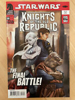 STAR WARS KNIGHTS OF THE OLD REPUBLIC #50 Dark Horse Comics FINAL ISSUE MINT