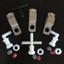"Spray Boom Repair Kit: tips screens clamps 3/8"" nozzle bodies tee caps nuts"